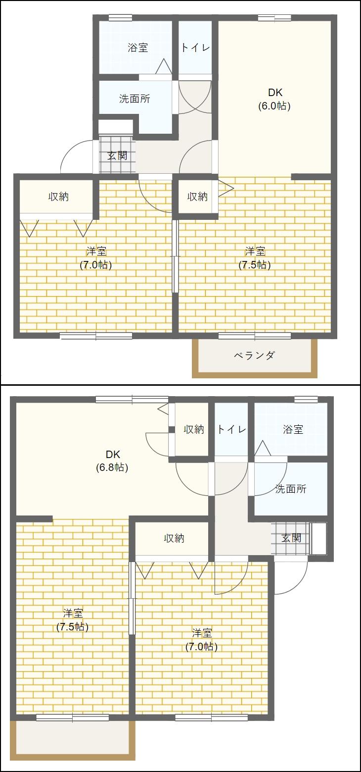 藤枝市高洲パインテラスA・B・C